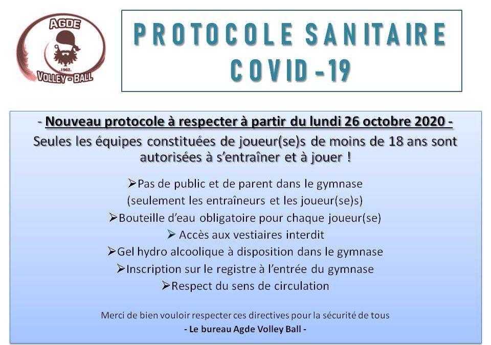 Crise sanitaire : Covid 19 !!!