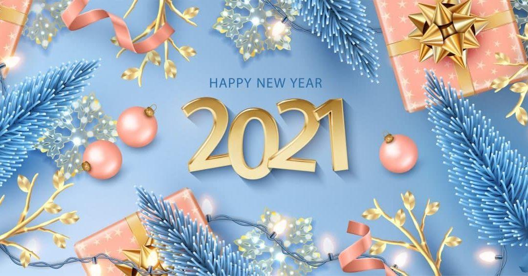 !!! BONNE ANNÉE 2021 !!!