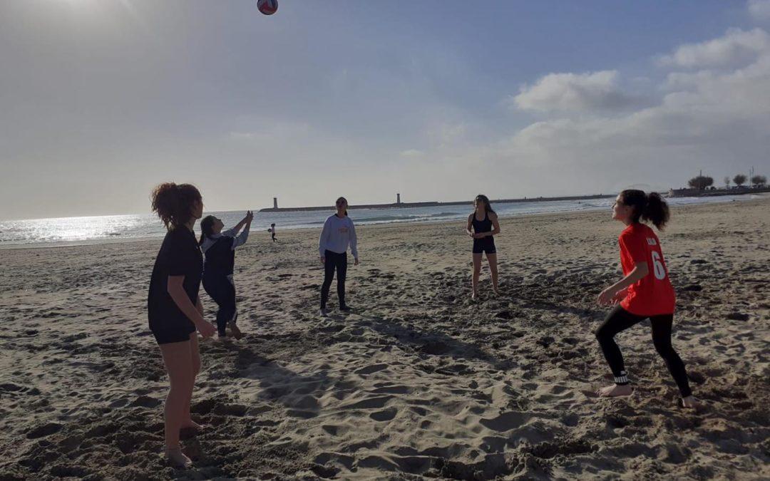 Entraînements beach du 3 février 2021 !