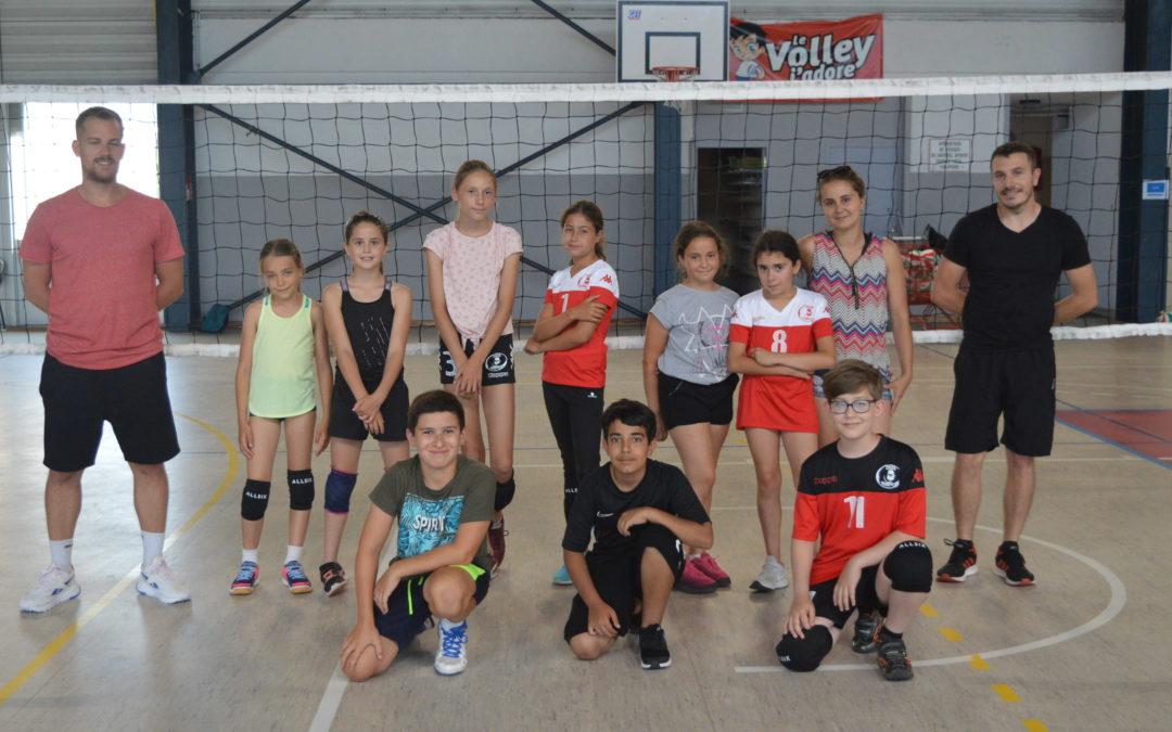 Entraînement Ecole de Volley 16.06.2021