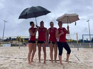 1er tour Coupe de France Beachvolley Séniors féminines !